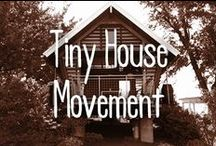 Tiny House Movement / The Tiny House Movement is all about downsizing in a HUGE way for a smaller yet simpler life. Go tiny!!