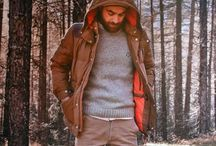 Men's fashion from nature / down to earth good looking fashion