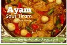 Resep Masakan Ayam / Kumpulan #ResepAyam
