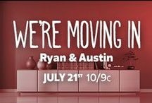 We're Moving In: Ryan & Austin / Check out FYI TV's new show, We're Moving In, Tuesdays at 10/9c for everything home-inspiration!  http://www.fyi.tv/shows/were-moving-in  / by FYI TV