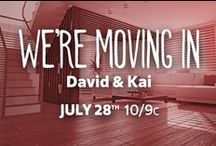 We're Moving In: David & Kai / Check out FYI TV's new show, We're Moving In on Tuesdays for everything home-inspiration!  http://www.fyi.tv/shows/were-moving-in / by FYI TV