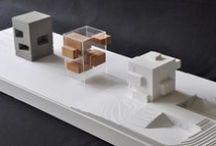 Kemenes Volcano Park Visitor Center / architectural model; made by: Gabor Klaffl;  Foldesarchitects: http://www.foldesarchitects.hu/