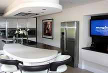 Innovative thinking creates an exceptional, modern design / Innovative thinking creates an exceptional, modern design Mr & Mrs Belshaw were delighted with their new kitchen, thanks to the innovative approach of designer Simon Thomas at Kitchen Design Centre.