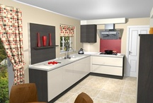 Efficient designer kitchen transformation / Mr Halstead, from Brierfield, opted for a complete re-design to bring his traditional kitchen up-to-date with the rest of his contemporary-style home.