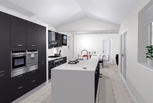 Cramped kitchen converted into luxurious and practical living space / Jonathan and Victoria Bullock desperately needed to revamp their old kitchen to make it suitable for modern family life.