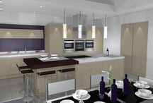Hunt For New Hob Transformed Into Luxury Modern Kitchen / Rick Neild and Lisa Hamant were amazed after four separate rooms were transformed into one multi-functional modern kitchen.