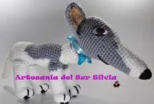 Amigurumis Artesania del Sur Silvia / Arte japonés de muñecos a crochet --------- www.silvia.artesaniadelsur.blogspot.com