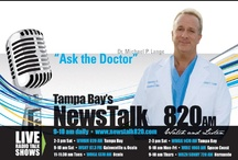 """Live Talk show """"Ask The DR""""  / Tune in every Friday at 11am and Saturday at 9am for """"ask the Dr"""" with Dr Michael Lange. He will discuss the latest in eye care and nutrition during his one hr live talk show. Dr. Lange has been hosting this show since April 1993."""