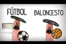 Los deportes en español - vocabulario español inicial / Aprender los deportes en español. Aprender vocabulario español nivel básico A1. Recursos educativos para aprender español, recursos ELE