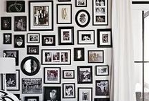 Pictures on the Wall / Photos and art display.
