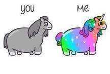 rainbows // unicorns