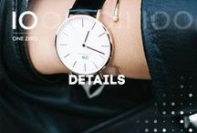 ONE ZERO | DETAILS / Watches, watches, watches ♥