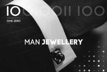 ONE ZERO | MAN JEWELLERY / Cufflinks. Bracelets. Man Accessories.