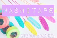 washitape mania / i am very very obessed with washi tape!
