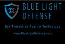 Blue light protection with Blue Light Defense / blue light protection  is crucial for good eye and overall health!  The all new Blue Light Defense lenses protect the eyes from the harmful blue light damage.