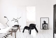 GL | Black & White / Black and White Living