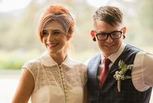 Wedding Day / Ian and Telan have a party #CanberraWedding #BrideandGroom #Vintagewedding