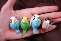 Virkat / Crocheted