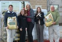 Giving Back / Giving back to the local community is one of our main goals at Natural Pawz.