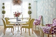 Decor: dining rooms