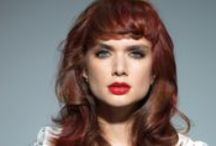 Red Hair by L'Oréal Professionnel / L'Oréal Professionnel's INOA introduces a new range of captivating intense reds with fade resistance, colour radiance and sublime shine. Award-winning London salon Brooks & Brooks created four on trend looks to inspire you to give red a try!