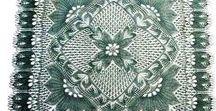Kötött terítők - Knitting / Kézzel kötött terítők mintagyűjteménye