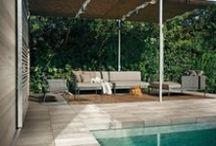 Pavimenti per Esterni / Pavimenti per esterni con finiture in legno adatti a giardini, piscine, terrazzi: eleganti e versatili.