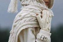 Kiegészítők - Knitting / Kötött kiegészítők: Sapka, sál, kesztyű, zokni