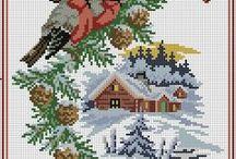 Karácsony - keresztszemes