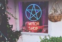 witch / witchery, magic, herbs and crystals