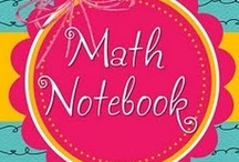 Math  / anchor charts and ideas to assist with math