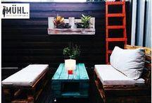 Muebles con pallets / Diseño de mobiliario mediante la reutilizacion de Pallets