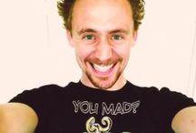 Tom 'Ehehehe' Hiddleston<3
