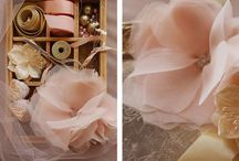 tulle flowers.