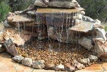 ogród z wodą