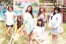Apink (에이핑크) ♥ / APink  (에이핑크) is a South Korean girl group under A Cube Entertainment formed in 2011. The group consists of Park Cho-rong ♥ Yoon Bo-mi ♥ Jung Eun-ji ♥ Son Na-eun ♥ Kim Nam-joo ♥ and Oh Ha-young ♥ Hong Yoo-kyung left the group in April 2013 to focus on her studies.