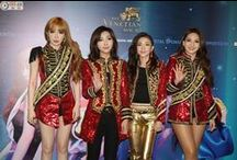 """2NE1 ♠ / 2NE1 is a four-member South Korean girl group formed by YG Entertainment in 2009. The name, pronounced to anyone or twenty one, combines the phrases """"21st century"""" and """"new evolution.The band consists of CL ♥  Minzy ♥ Dara ♥ and Bom ♥"""
