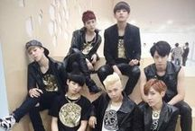 BTS (방탄소년단) ♥ / Bangtan Boys ( 방탄소년단) is a South Korean seven-member hip-hop boy group formed by Big Hit Entertainment. They debuted on June 13, 2013 with their first title song No More Dream followed by We Are Bulletproof Pt.II.Members : Jin ♥ Suga ♥ J-Hope ♥ Rap Monster  ♥ V ♥ Jimin ♥ Jungkook ♥