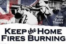 Keep The Home Fires Burning / A new literary project!