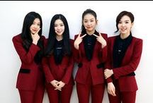 """Red Velvet ( 레드벨벳 ) ♥ / Red Velvet  is a South Korean girl group formed by S.M. Entertainment in 2014. The group consists of Irene ♥ Seulgi ♥ Wendy ♥ and Joy ♥ They have released two digital singles, """"Happiness"""" and """"Be Natural""""."""