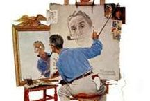Art- Norman Rockwell / Sharing the artwork of Norman Rockwell