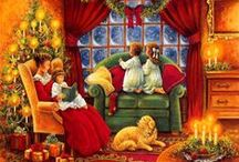Christmas Scenes & Artworks / Christmas Images and Artwork, Past and Present