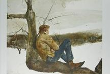 Art- Andrew Wyeth / Sharing the Artworks of Andrew Wyeth (1917-2009), primarily a realist painter working predominantly in a regional style. He was one of the best-known U.S. artists of the middle 20th century.