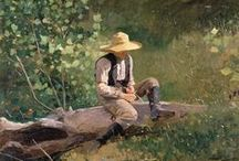Art- Winslow Homer / Sharing the Artworks of Winslow Homer (1836-1910), an American landscape painter and printmaker, best known for his marine subjects. He is considered one of the foremost painters in 19th-century America and a preeminent figure in American art.