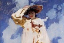 "Art- John Singer Sargent / Sharing the artworks of John Singer Sargent (1856-1925), an American artist, considered the ""leading portrait painter of his generation"" for his evocations of Edwardian era luxury"