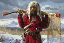 Art- Mountain Men and Fur Traders of the Early West / Sharing Artworks, Images and Information on the Mountain Men and Fur Traders Who Helped Explore the Early West