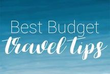 Best Budget travel tips / This board contains various tips on how to travel on a budget.  Find heaps of ideas on how to save money when you travel