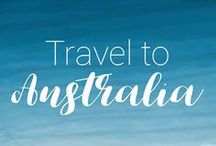 Travel to Australia / Australia Travel Tips and Inspiration! Plan your trip to Australia with photos, destinations, itineraries, guides, things to do and places to visit: Queensland, Melbourne, Brisbane, Cairns, Tasmania, South Australia...