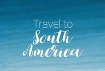Travel to South America / South America Travel Tips and Inspiration! Plan your trip to South America with photos, destinations, itineraries, guides, things to do and places to visit: Peru, Argentina, Chile, Amazon, Patagonia...