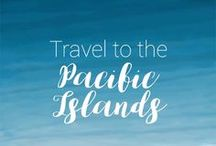 Travel to the Pacific Islands / Pacific Island Travel Tips and Inspiration! Plan your trip to Pacific Island with photos, destinations, itineraries, guides, things to do and places to visit: Fiji, Vanuatu, Samoa, Cook Islands